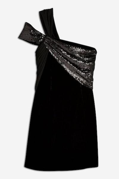 Velvet And Sequin Dress