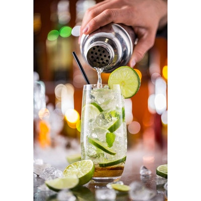 Cresimo 24 Ounce Cocktail Shaker Bar Set