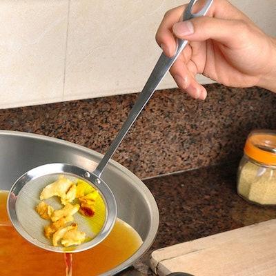 LiPing Round Colander Spoon
