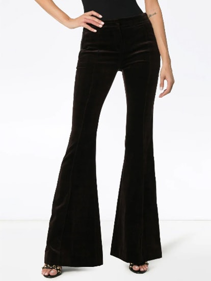 Flare Velvet Trouser