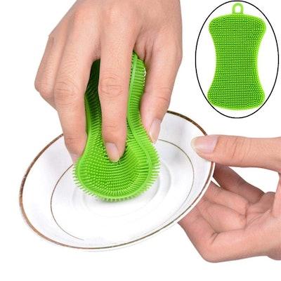 Creazy Silicone Dish Washing Sponge