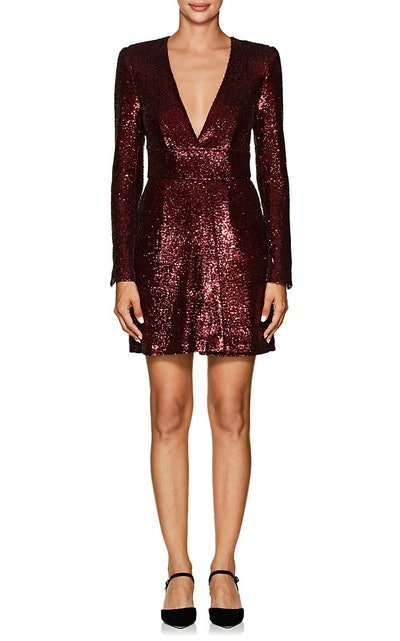 Mara Sequined Fitted Dress