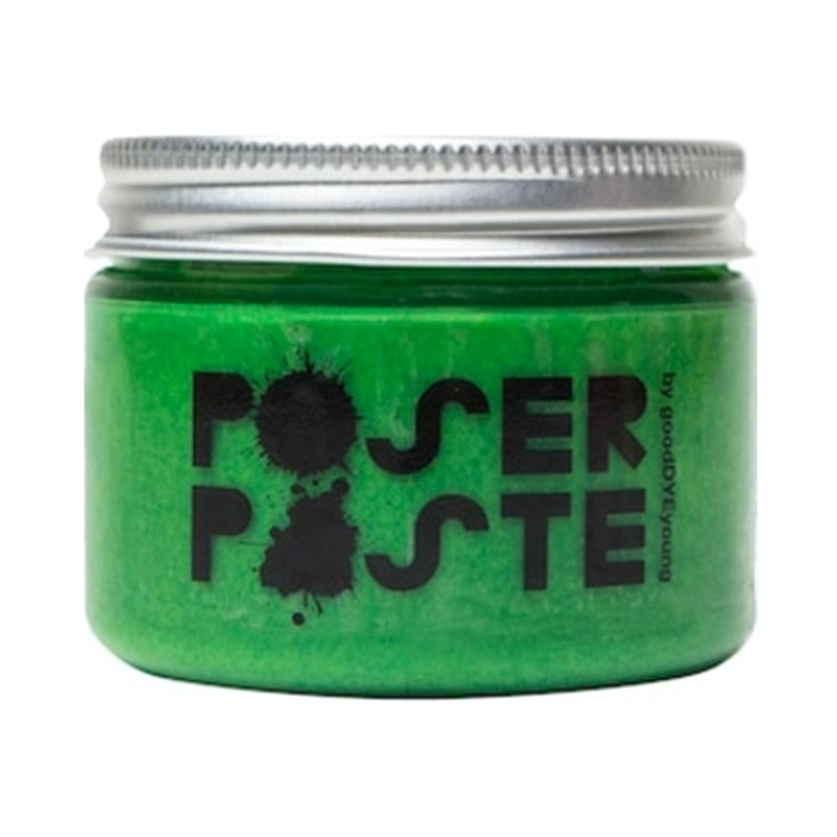 "Good Dye Young Poser Paste Temporary Hair Makeup in ""Kowabunga Green"""
