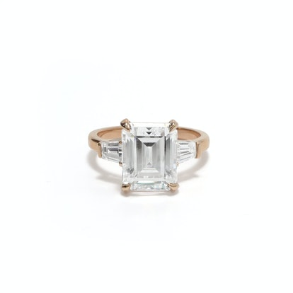 Grace Emerald Cut Engagement Ring