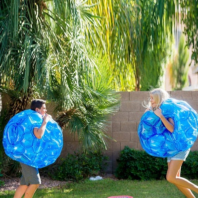 Inflatable Bubble Bumper Balls (2-Pack)