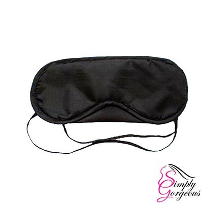 Simply Gorgeous Black Sleep Mask