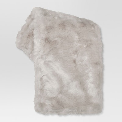 "Threshold™ - Faux Fur Throw Blankets (50""x 60"")"