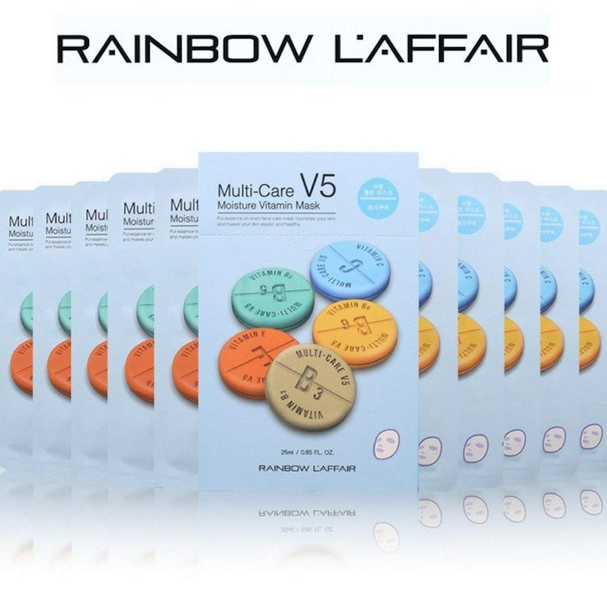 Rainbow L'Affair Multi-Care Sheet Masks