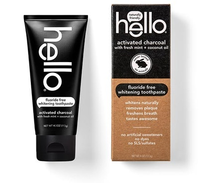 Hello Activated Charcoal Toothpaste