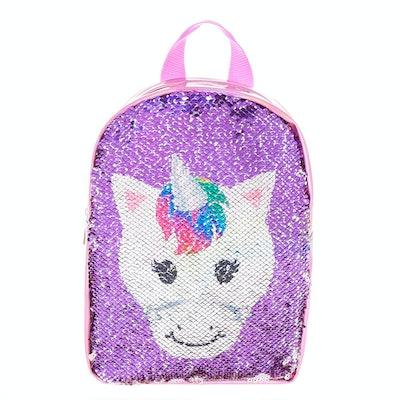 Reversible Sequins Unicorn Backpack