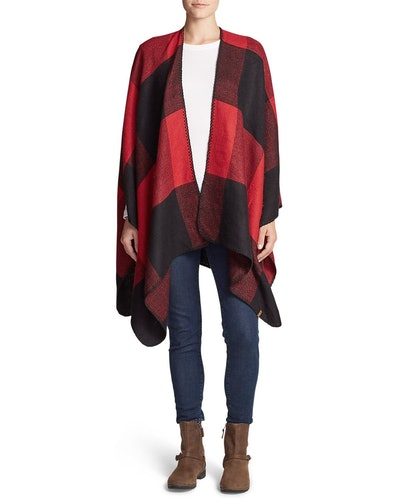 Women's Vesper Blanket Shawl Plaid