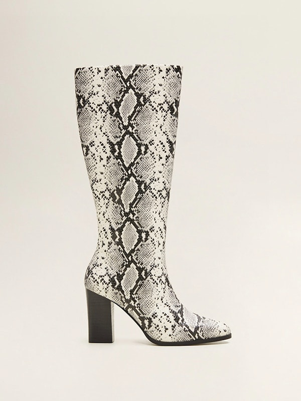 Bella Hadid's $130 Snakeskin Boots Are