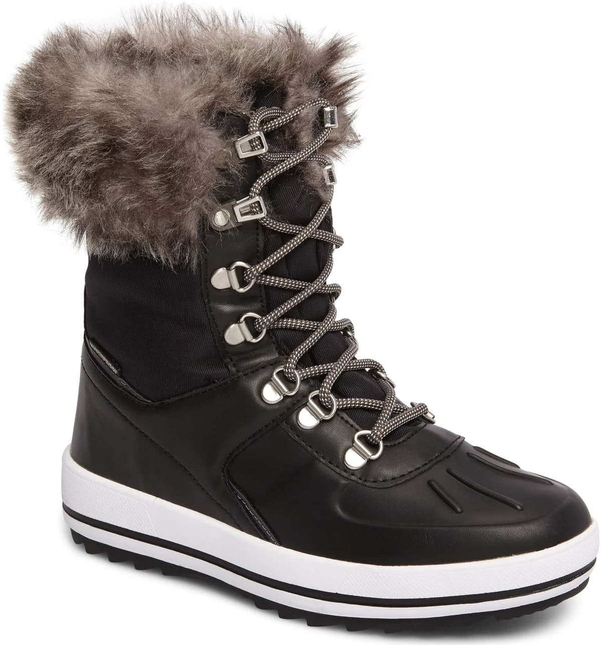 Viper Waterproof Snow Boot with Faux Fur Trim
