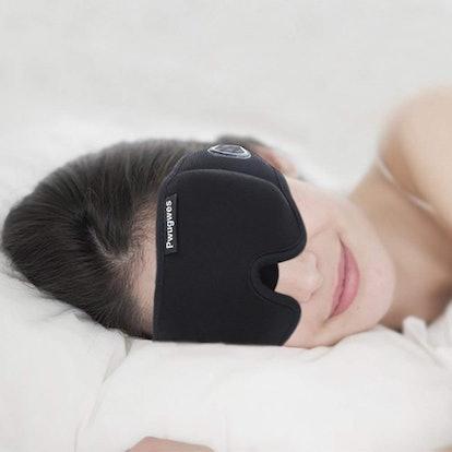 Pwugwes Blindfold Sleeping Mask