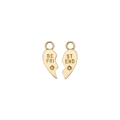 Diamond Best Friend Charm Set