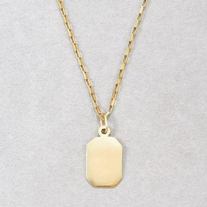 Mini ID Pendant Necklace