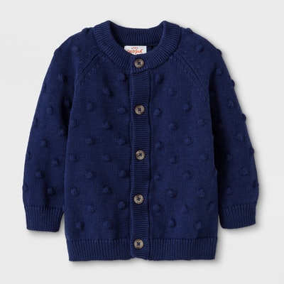 Button-Up Cardigan Sweater