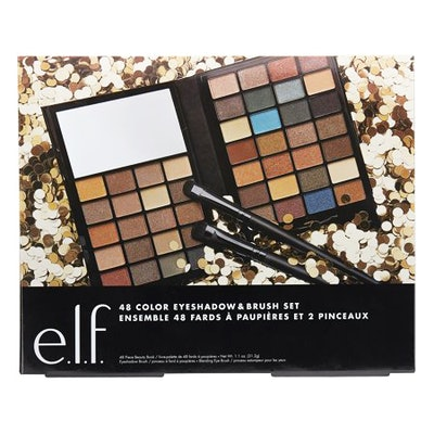e.l.f. Cosmetics Holiday 48 Color Eyeshadow and Brush Set