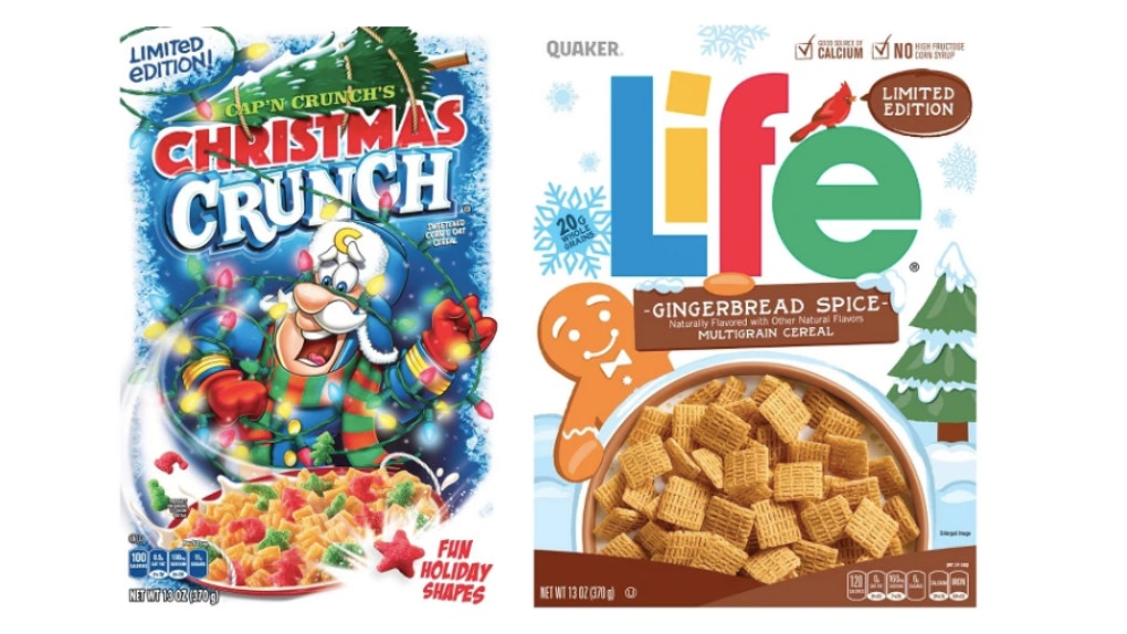 Christmas Crunch Cereal.Cap N Crunch S Christmas Crunch Gingerbread Spice Life
