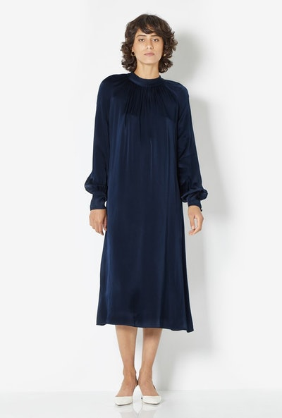 Ingrid Dress Navy