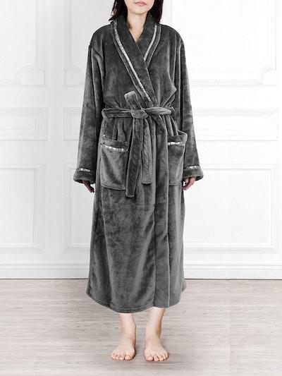 PAVILIA Premium Women's Fleece Robe