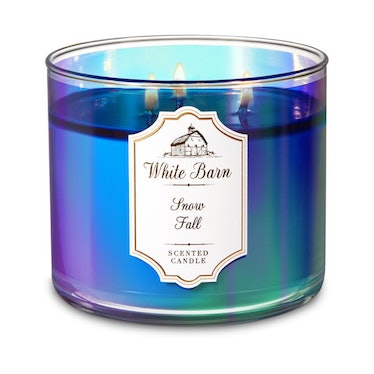 """White Barn 3-Wick Candle in """"Snow Fall"""""""