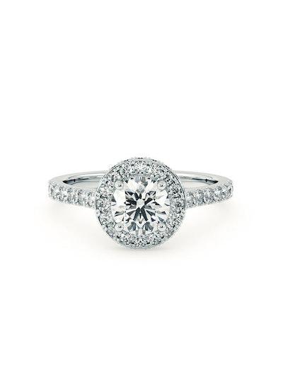 Elixir Platinum Engagement Ring