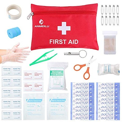 Small Travel First Aid Kit - 76 Piece