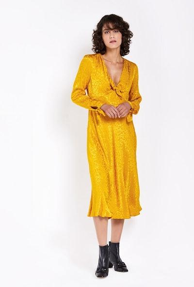 Savannah Dress Gold Animal