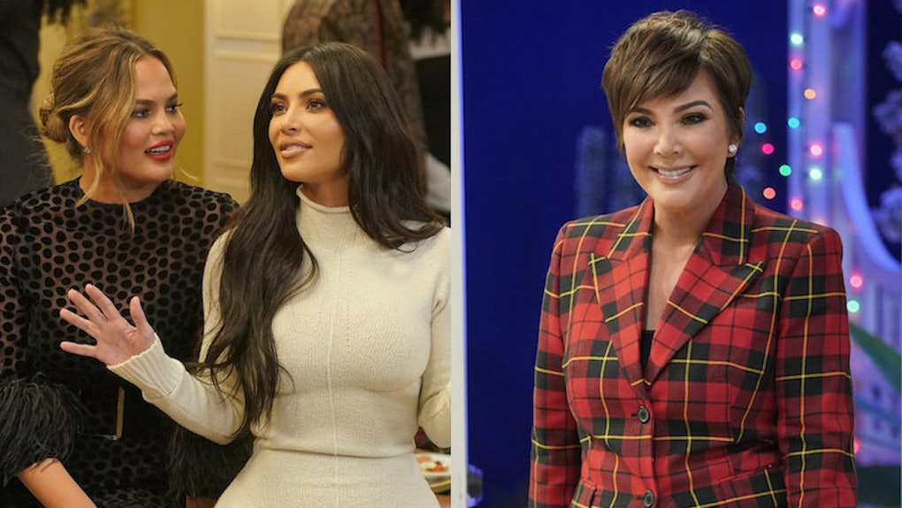 A Legendary Christmas.The Kardashian Cameos On The A Legendary Christmas Special