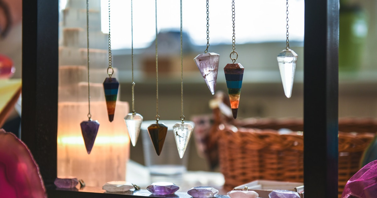 What Is Crystal Pendulum Dowsing? This Practice Can Help