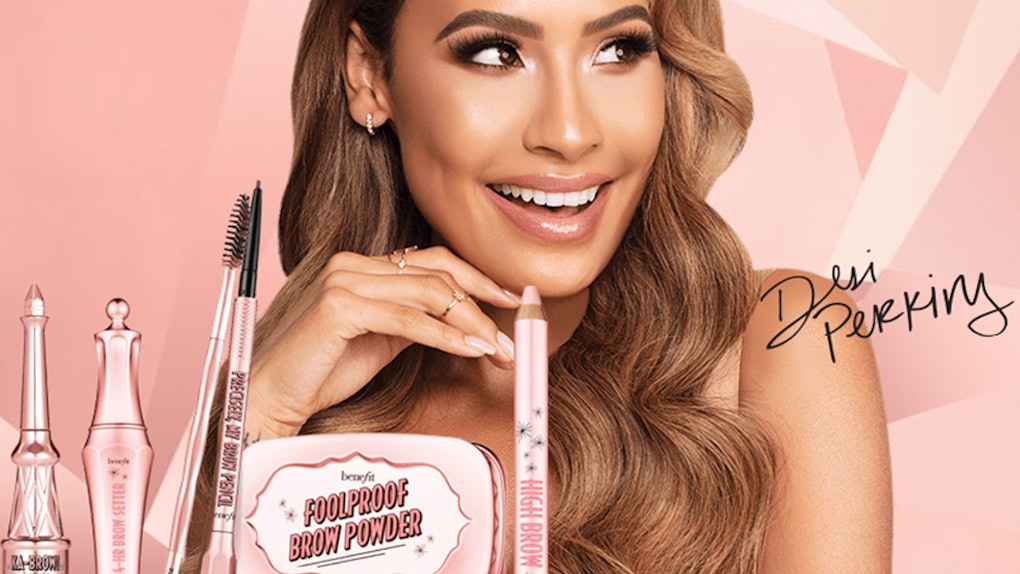The Benefit x Desi Perkins Brow Kit Includes Eyebrow Essentials In