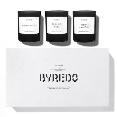 BYREDO La Sélection Violette Mini Candle Set
