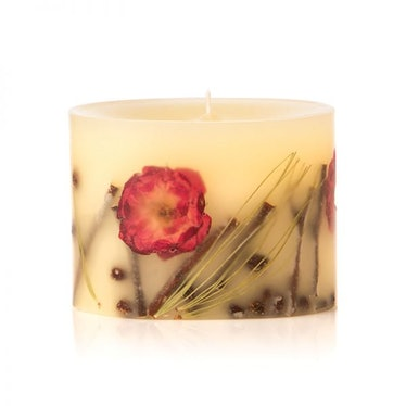 """Petite Collection Oval Botanical Candle in """"Winter Rose & Pine"""""""