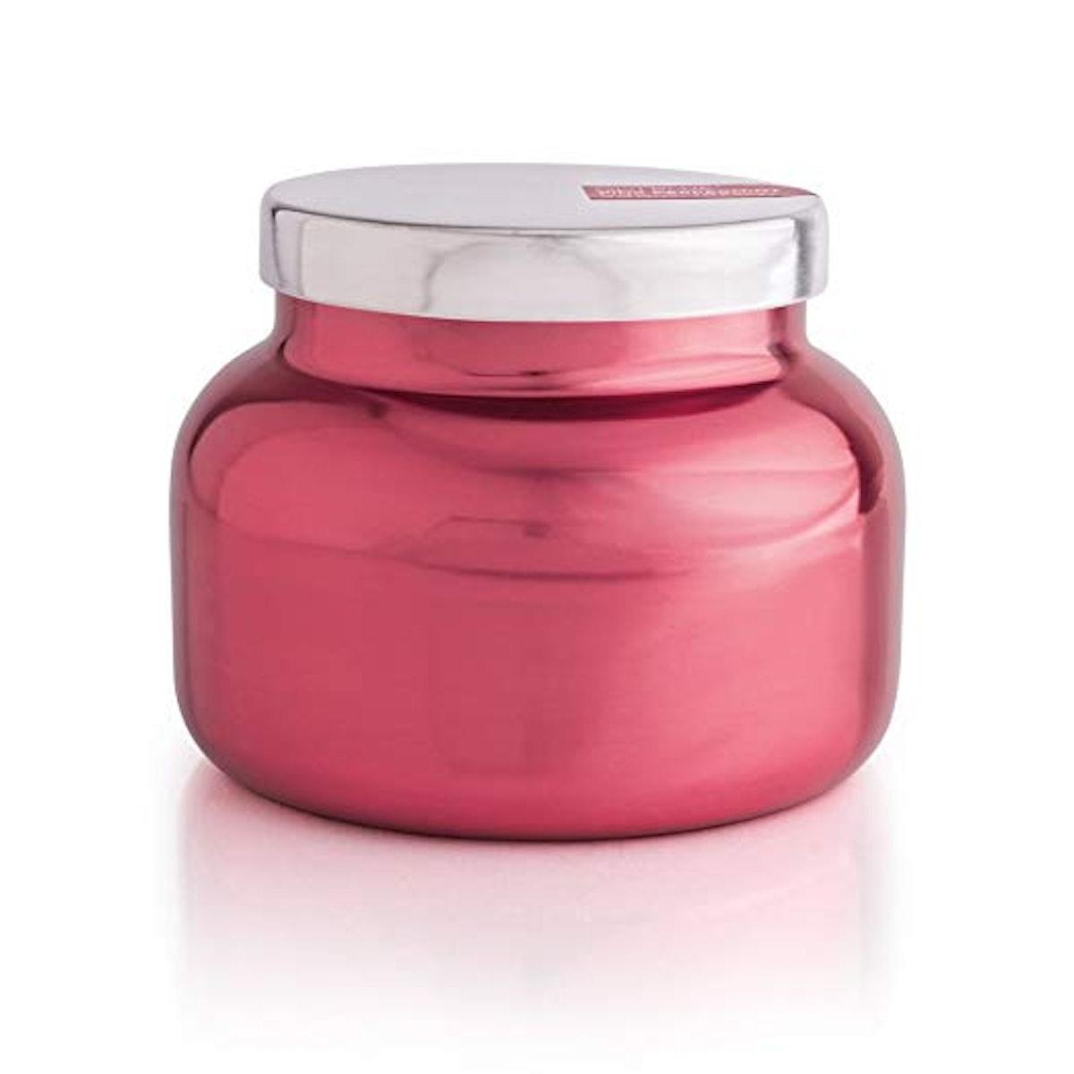 Pink Peppermint Metallic Pink Signature Jar