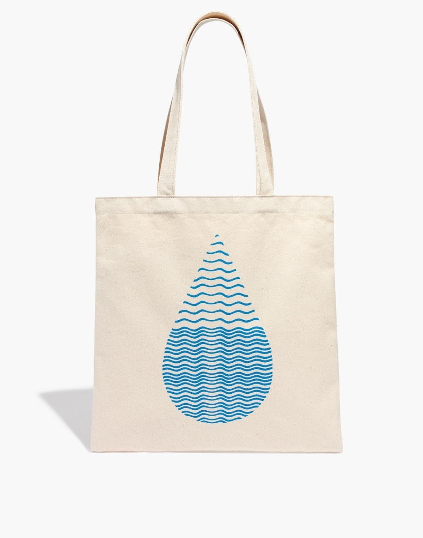Madewell x Charity: Water Tote Bag
