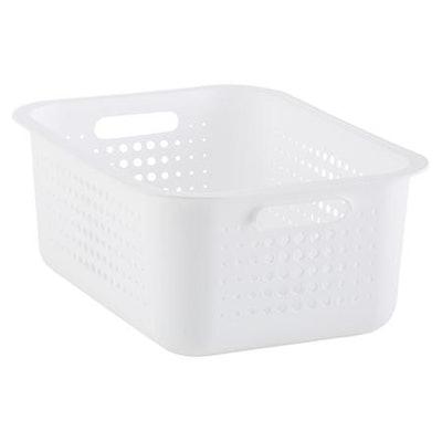Medium Nordic Basket White