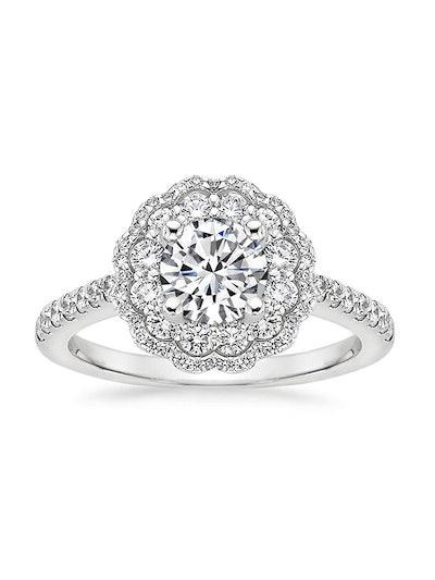 Rosa Diamond Ring