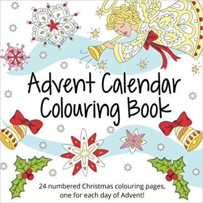 24 Page Coloring Book Advent Calendar
