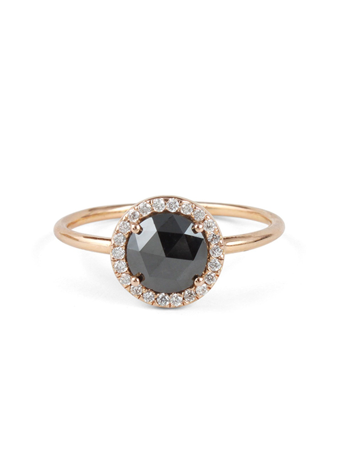 Black Diamond Aura Ring