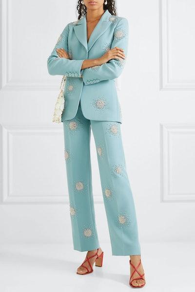 Crystal Embellished Suit