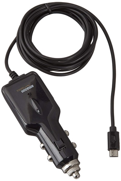 AmazonBasics Micro USB Universal Car Charger for Android