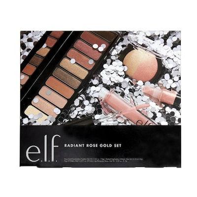 e.l.f. Cosmetics Radiant Rose Gold Holiday Set