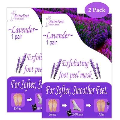 EntreFeet Exfoliating Foot Peel Mask (2 Pack)