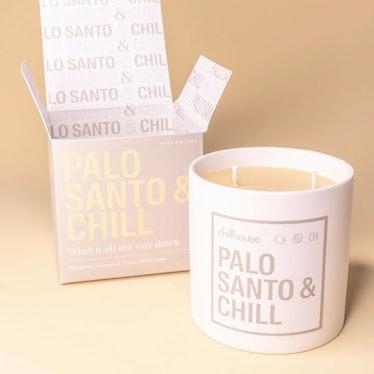 Palo Santo & Chill Candle