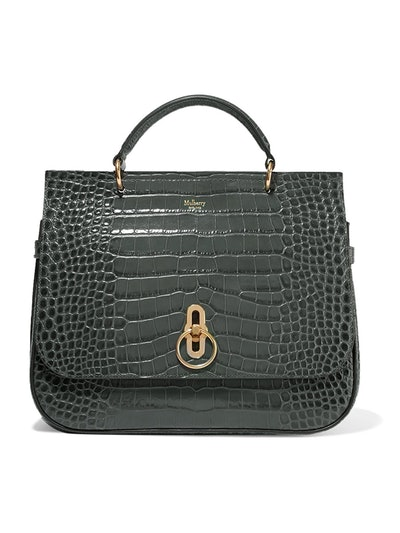 Amberley Croc-Effect Leather Tote