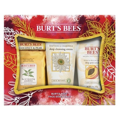 Burt's Bees Face Essentials Holiday Gift Set,
