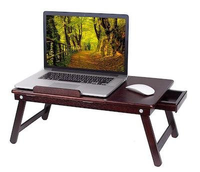 BirdRock Home Bamboo Laptop Bed Tray