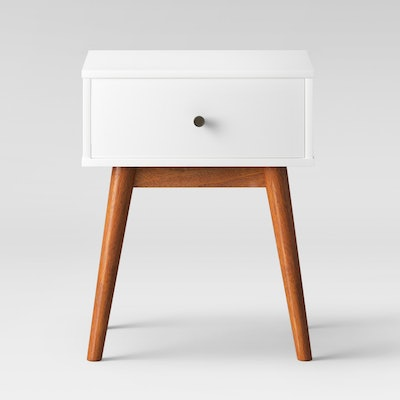 Project 62 Amherst Mid Century Modern Two-Tone Side Table