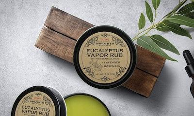 Svasthya Body & Mind Eucalyptus Vapor Rub
